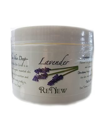 Renew Lavender Salt Scrub