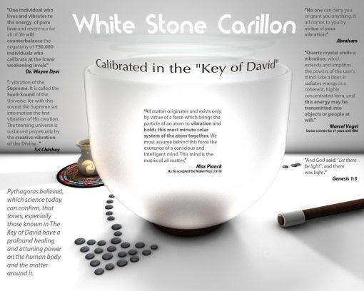 White Stone Carillion Crystal